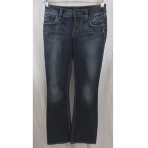Silver Jeans Suki Low Rise Med Wash Denim 27